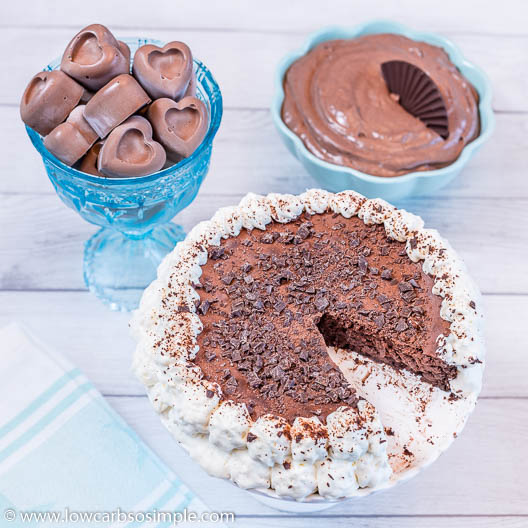 Chocolate Cheesecake Fat Bomb Everything | Low-Carb, So Simple