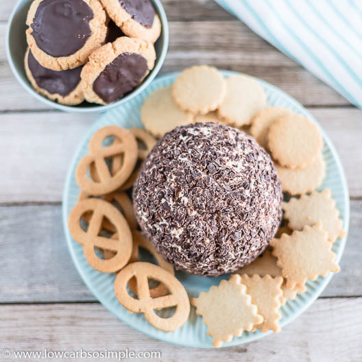 Low-Carb Chocolate Chip Cheese Ball | Low-Carb, So Simple