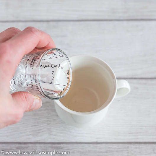 Adding Water | Low-Carb, So Simple