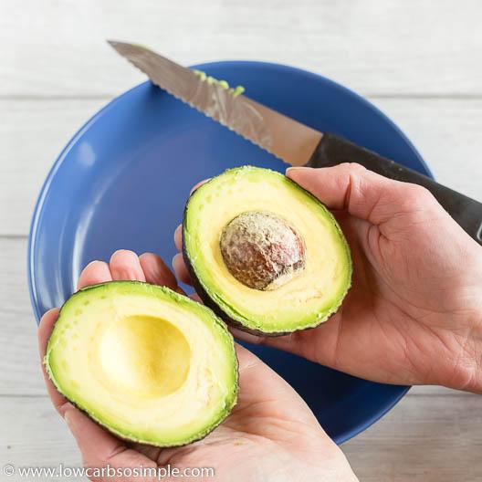 Halved Avocado   Low-Carb, So Simple