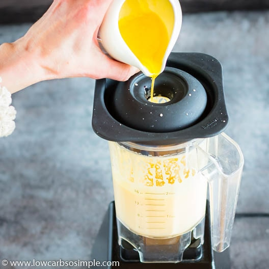 Still Adding Melted Butter | Low-Carb, So Simple