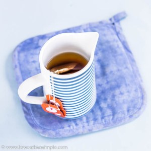 4 Teabags Added | Low-Carb, So Simple