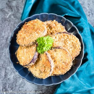 Easy Fried Keto Eggplant | Low-Carb, So Simple
