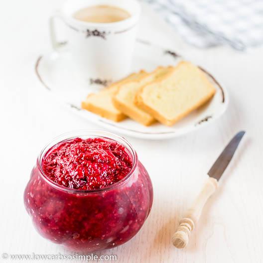 Keto Raspberry Lemonade Marmalade | Low-Carb, So Simple