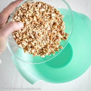 Adding Pecans | Low-Carb, So Simple