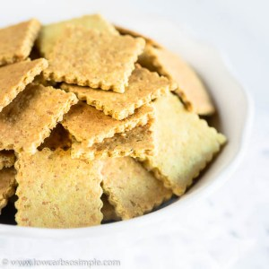Easiest Curry Parmesan Crackers   Low-Carb, So Simple