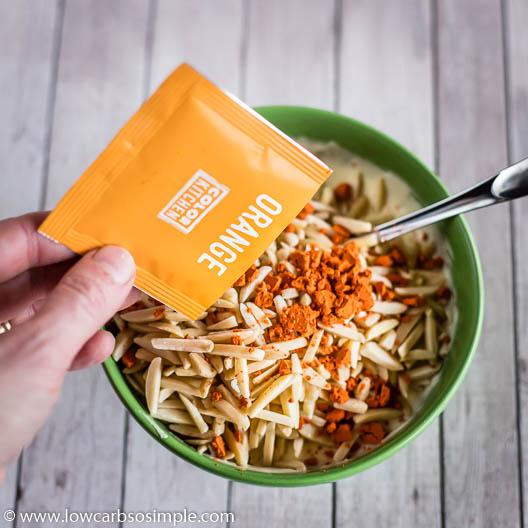 Adding Natural Orange Food Coloring | Low-Carb, So SImple