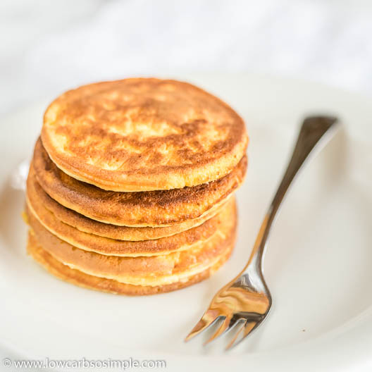 Super-Fluffy Keto Pancakes with Lupin Flour | Low-Carb, So Simple