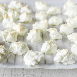 Batch of Sugar-Free Meringues | Low-Carb, So Simple
