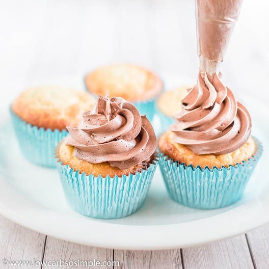 The Ultimate Keto Chocolate Buttercream Frosting | Low-Carb, So Simple