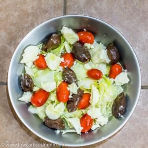 Sort of Greek Salad | Low-Carb, So Simple