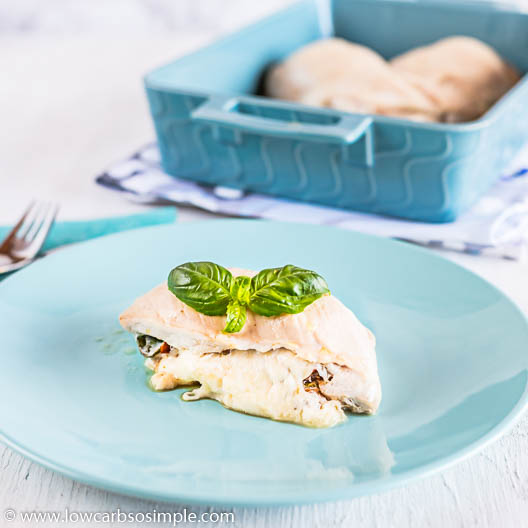 Caprese Stuffed Chicken | Low-Carb, So Simple