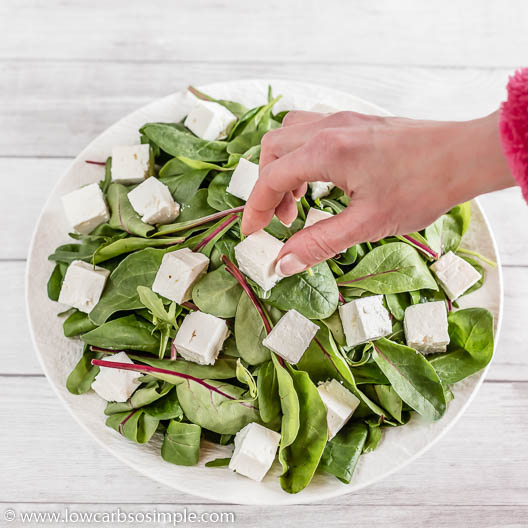 Adding Feta | Low-Carb, So Simple