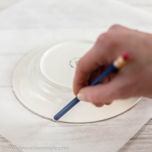 Drawing an 8-Inch Circle | Low-Carb, So Simple