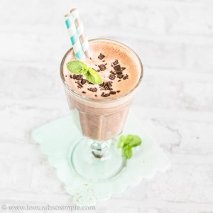 Double Mint Chocolate Keto Smoothie | Low-Carb, So Simple