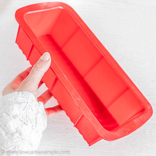 Silicone Loaf Pan | Low-Carb, So Simple