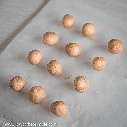 Balls on Parchment Paper | Low-Carb, So Simple