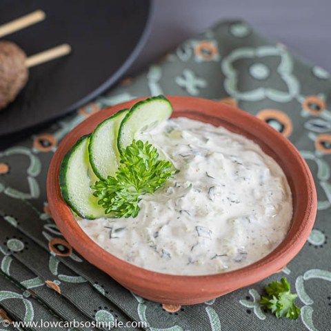 5-Ingredient Keto Raita | Low-Carb, So Simple