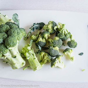 Chopped Broccoli | Low-Carb, So Simple