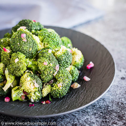 Dill-Marinated Broccoli | Low-Carb, So Simple
