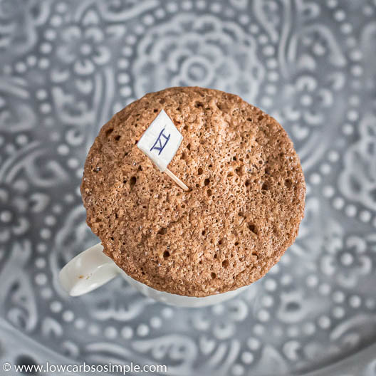 Mug Cake with Gingerbread Spice Mix Experiment VI | Low-Carb, So Simple