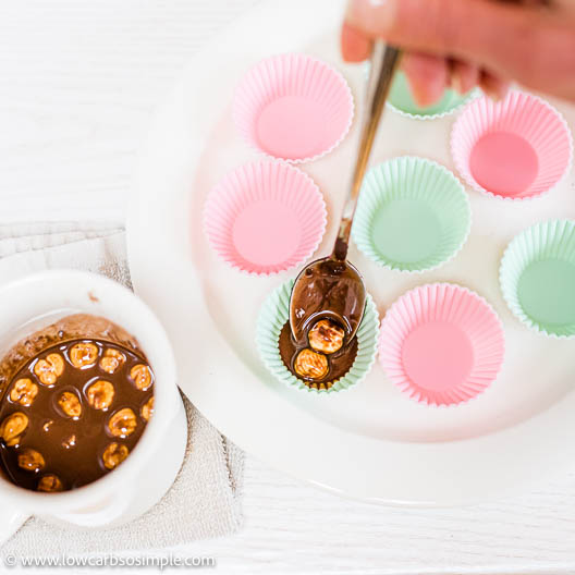 Spooning into Silicone Molds | Low-Carb, So Simple