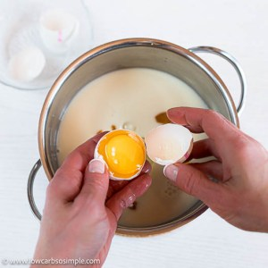 Adding Eggs | Low-Carb, So Simple