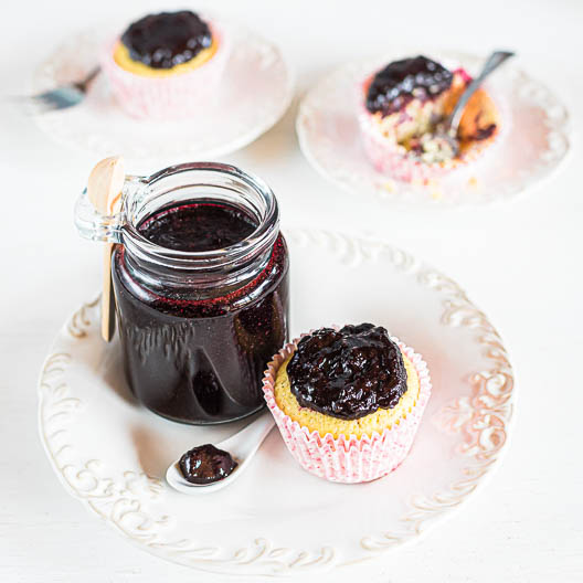 Vanilla-Kissed Fresh Keto Blueberry and Lemon Marmalade   Low-Carb, So Simple