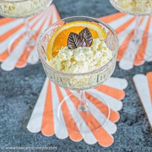 5-Ingredient Keto Orange Rice Pudding | Low-Carb, So Simple
