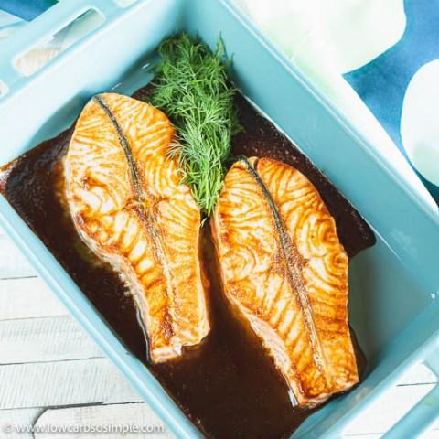 5-Ingredient Keto Maple Salmon | Low-Carb, So Simple