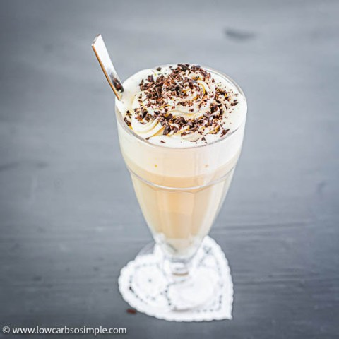 Easy 4-Ingredient Keto Vanilla Collagen Latte   Low-Carb, So Simple