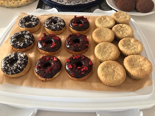 Donitsit ja muffinit