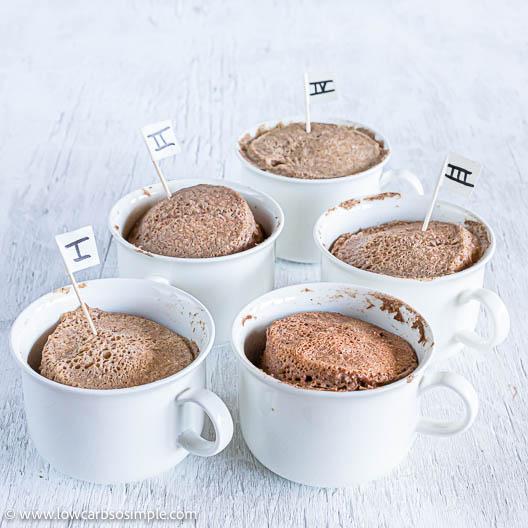Mug Cakes | Low-Carb, So Simple