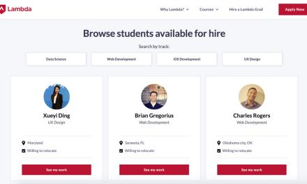 How Lambda School grew with no-code tools