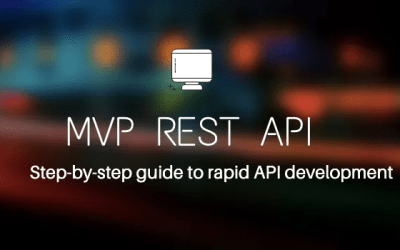 How to Build a MVP REST API Using Low-Code Approach