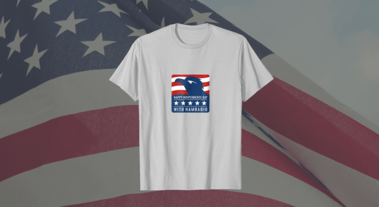 Patriotic Ham Radio T-Shirt