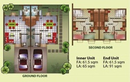 ground and second floor