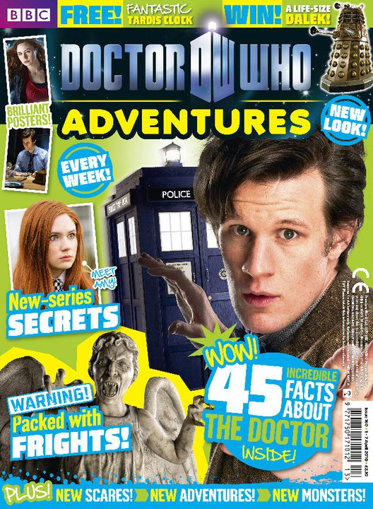 We had a big relaunch for the first Matt Smith issue, which was done by the fabulous Nikki Davies, as I'd moved over to be deputy editor by then.