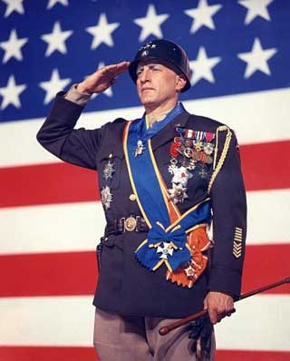 George C. Scott as General George S. Patton
