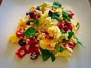 Italian Style Rice Cold Salad