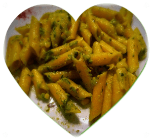 Gluten Free Pasta with Low FODMAP Pesto