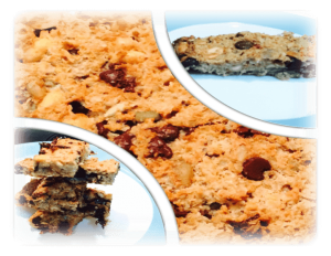 Choc-chip muesli bars