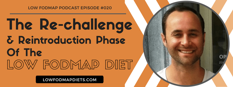 low fodmap podcast with Lee Martin Registered dietician