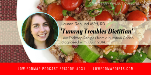 #031 Lauren Renlund Is The Tummy Troubles Dietitian