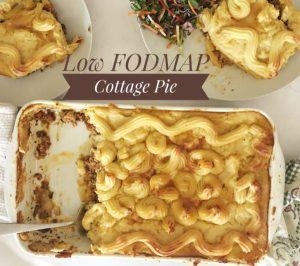 Low FODMAP Cottage Pie