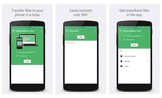 Portal - WiFi File Transfers