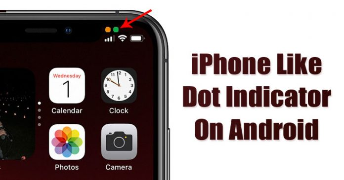 Get iPhone Like Dot Indicators on Android