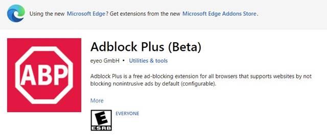 Adblock Plus (Beta)