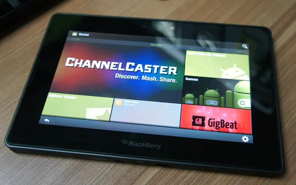 How to install Android Market on a BlackBerry PlayBook