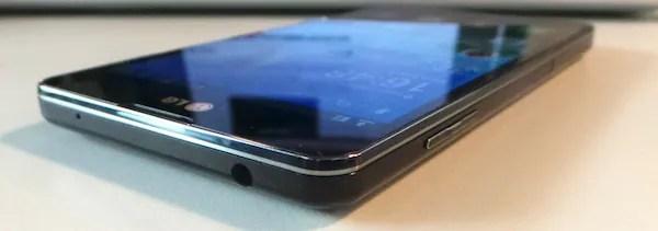 LG Optimus G Design Side 2